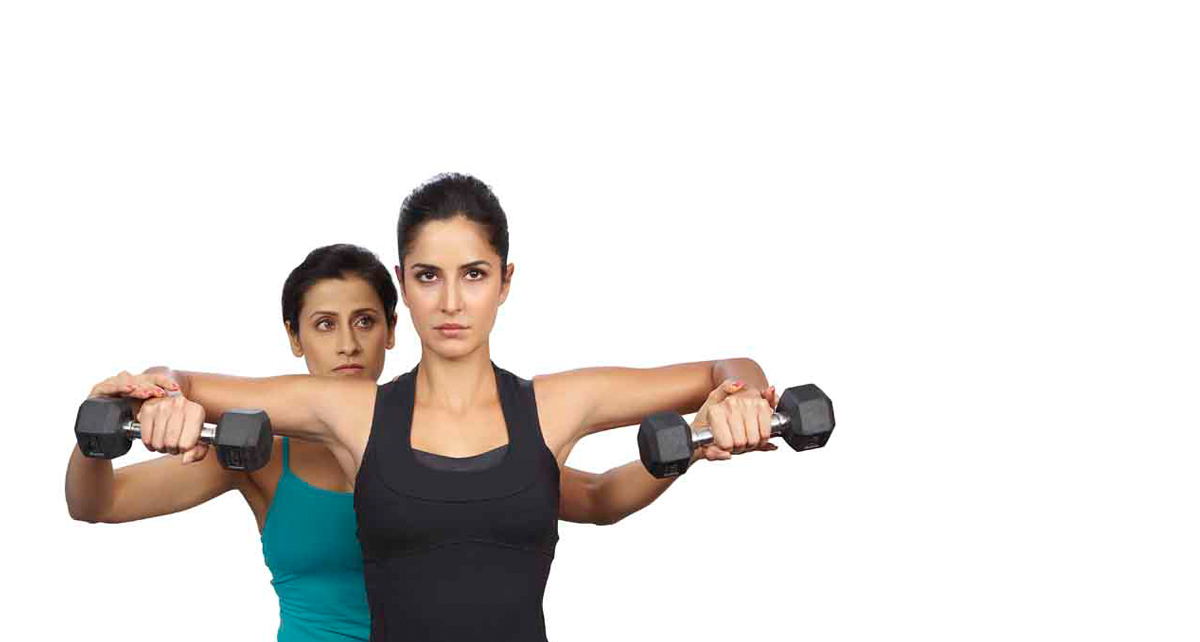 Train with Celebrity trainer Yasmin Karachiwala